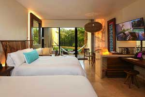 Suite Ocean Front Family - Hotel Xcaret Mexico All Inclusive